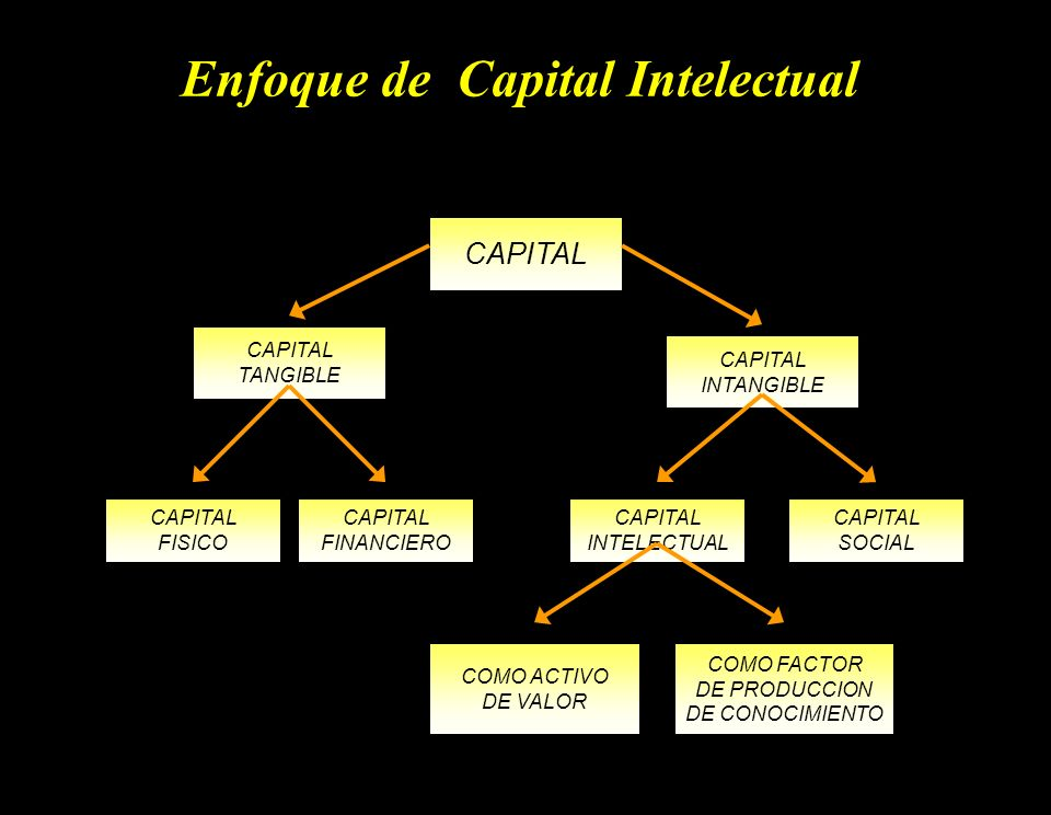 Enfoque de Capital Intelectual