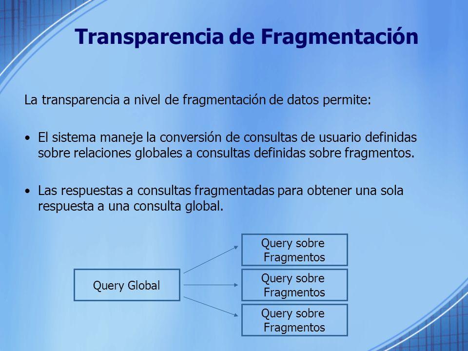 Transparencia de Fragmentación