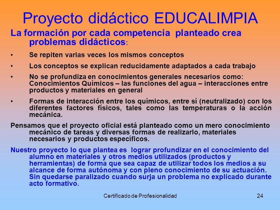 Proyecto didáctico EDUCALIMPIA