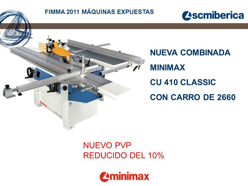 NUEVA COMBINADA MINIMAX CU 410 CLASSIC CON CARRO DE 2660 NUEVO PVP