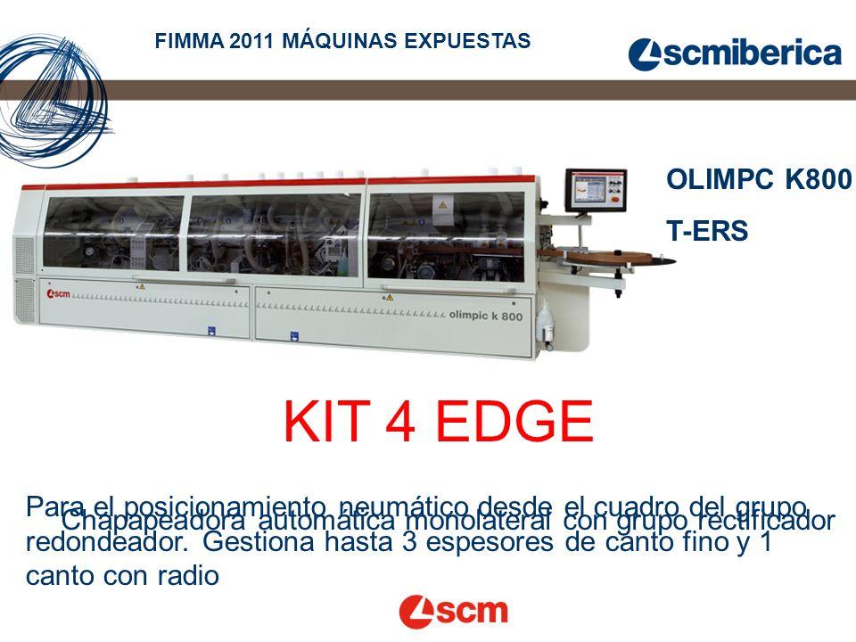 FIMMA 2011 MÁQUINAS EXPUESTAS