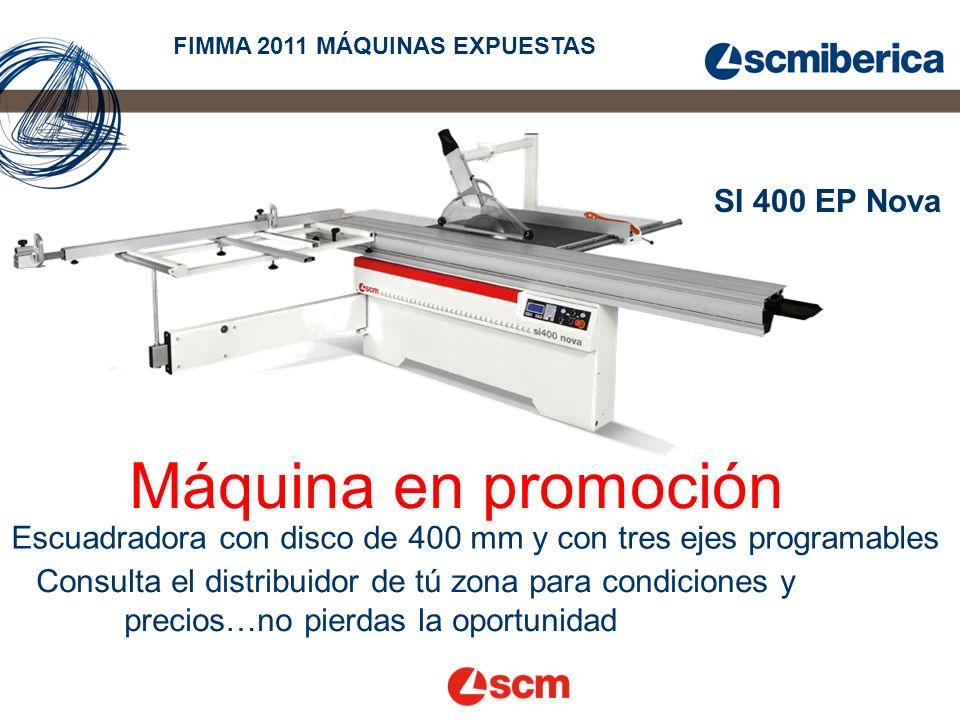 Máquina en promoción SI 400 EP Nova