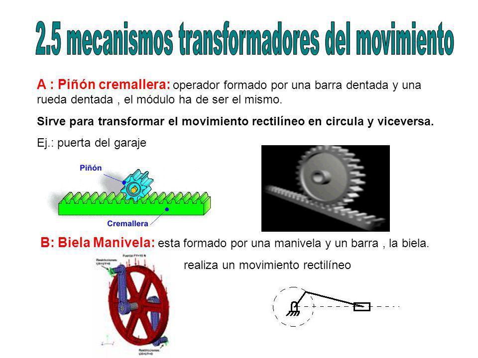 2.5 mecanismos transformadores del movimiento
