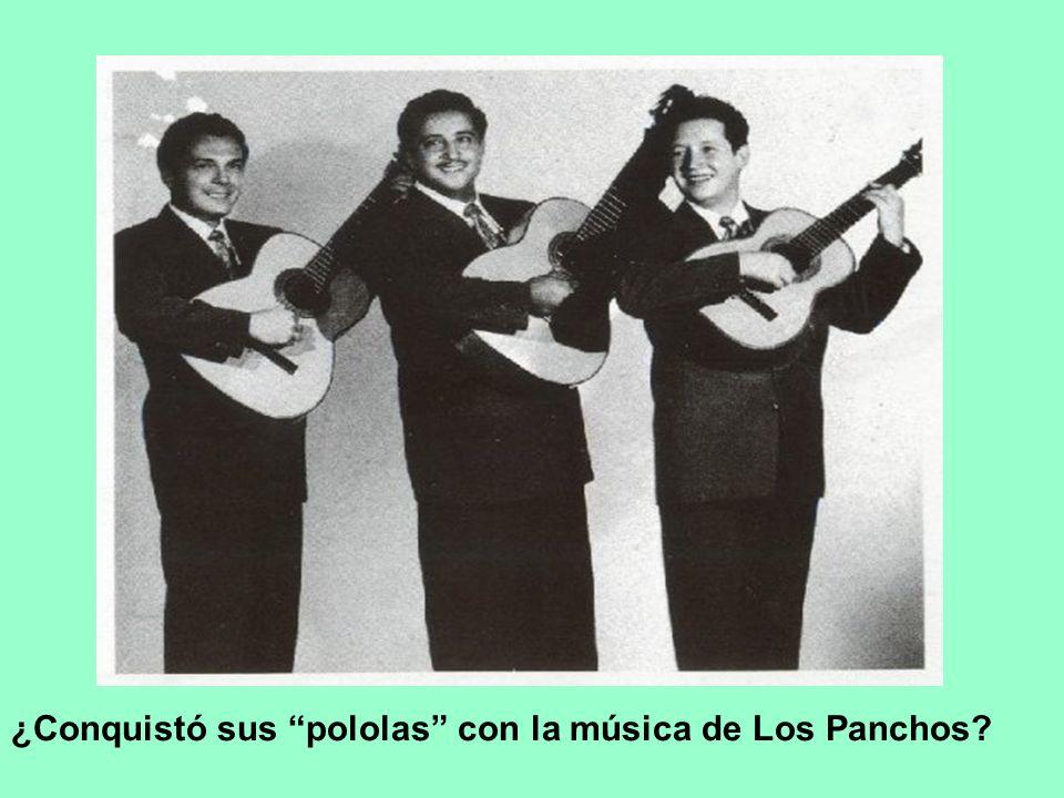 ¿Conquistó sus pololas con la música de Los Panchos