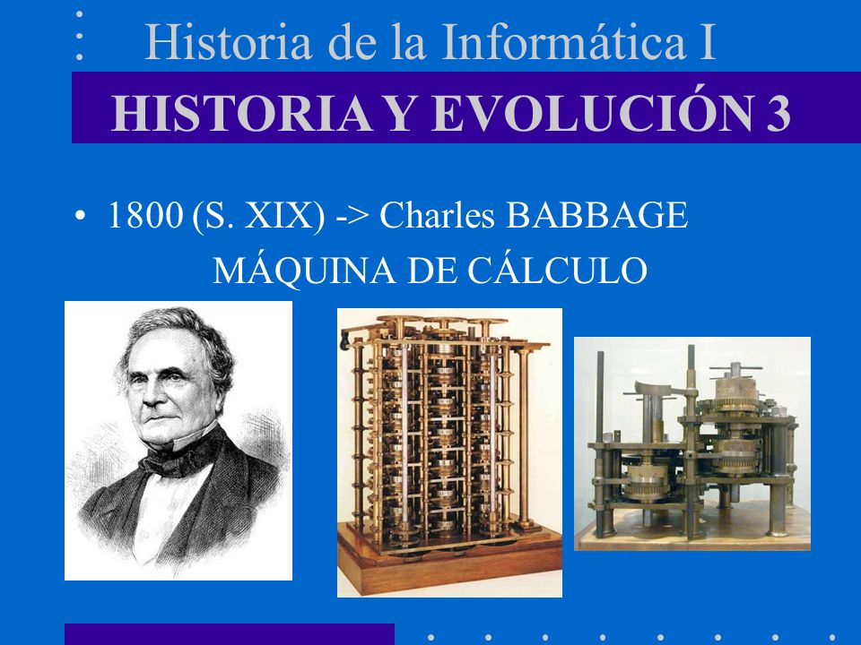Historia de la Informática I