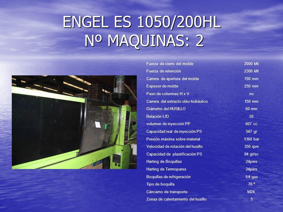 ENGEL ES 1050/200HL Nº MAQUINAS: 2