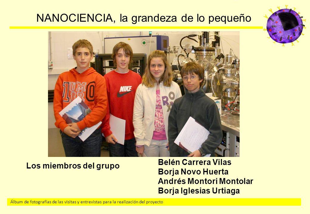 Los miembros del grupo Belén Carrera Vilas. Borja Novo Huerta.