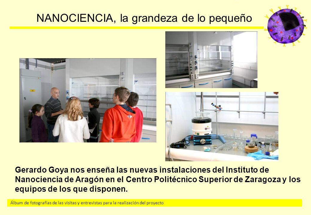 Gerardo Goya nos enseña las nuevas instalaciones del Instituto de Nanociencia de Aragón en el Centro Politécnico Superior de Zaragoza y los equipos de los que disponen.