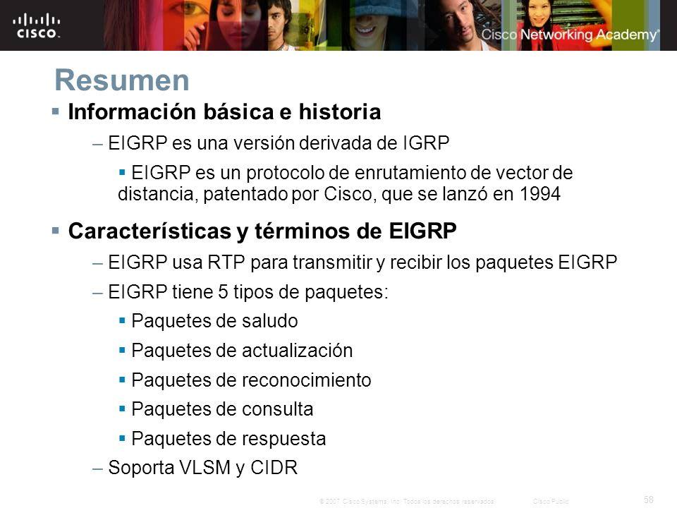 Resumen Información básica e historia