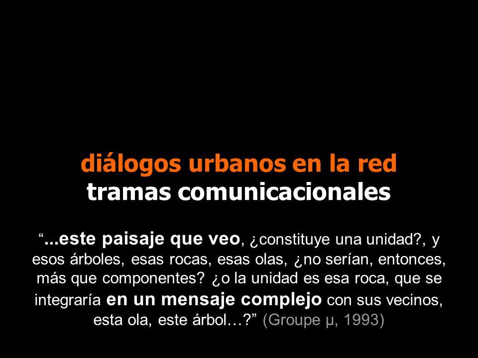diálogos urbanos en la red tramas comunicacionales