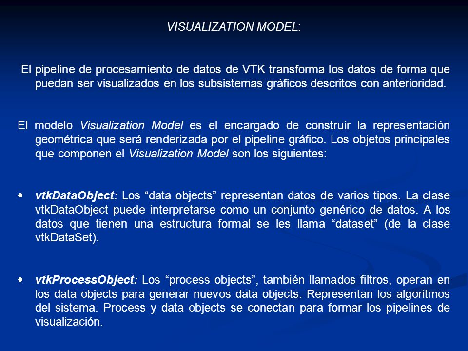 VISUALIZATION MODEL: