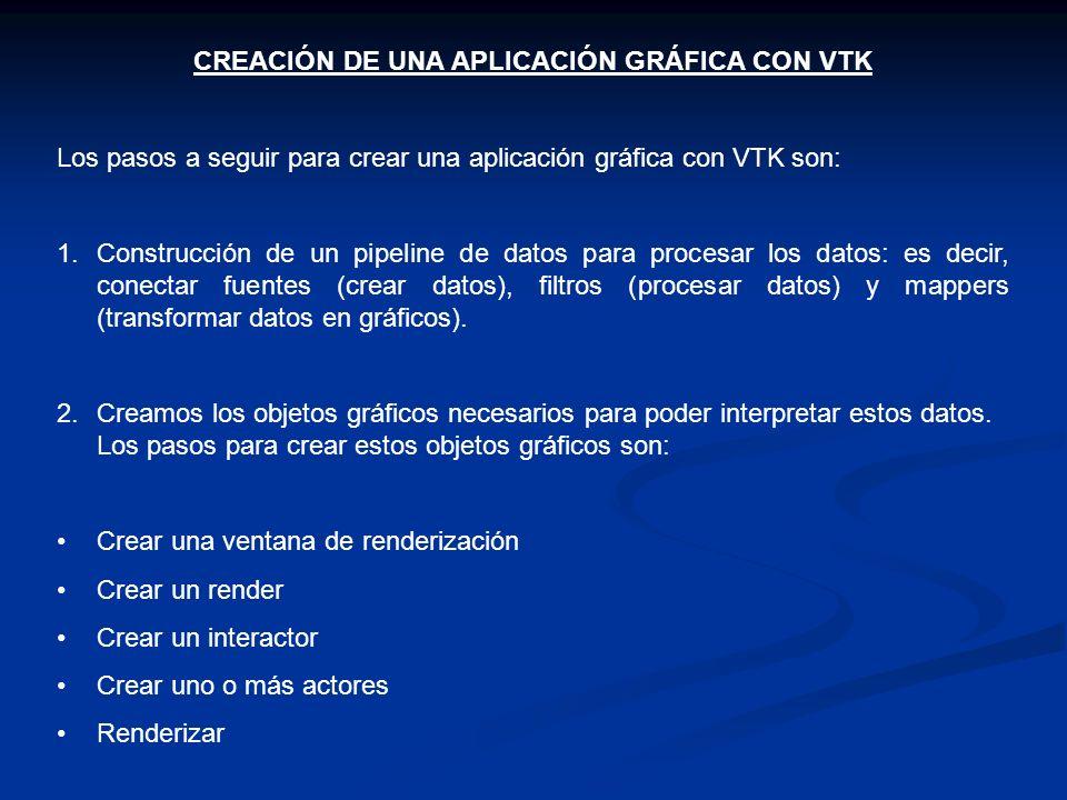 CREACIÓN DE UNA APLICACIÓN GRÁFICA CON VTK