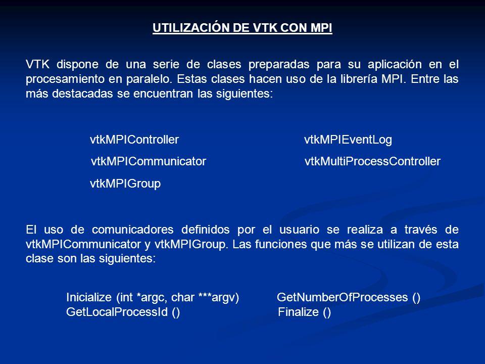 UTILIZACIÓN DE VTK CON MPI
