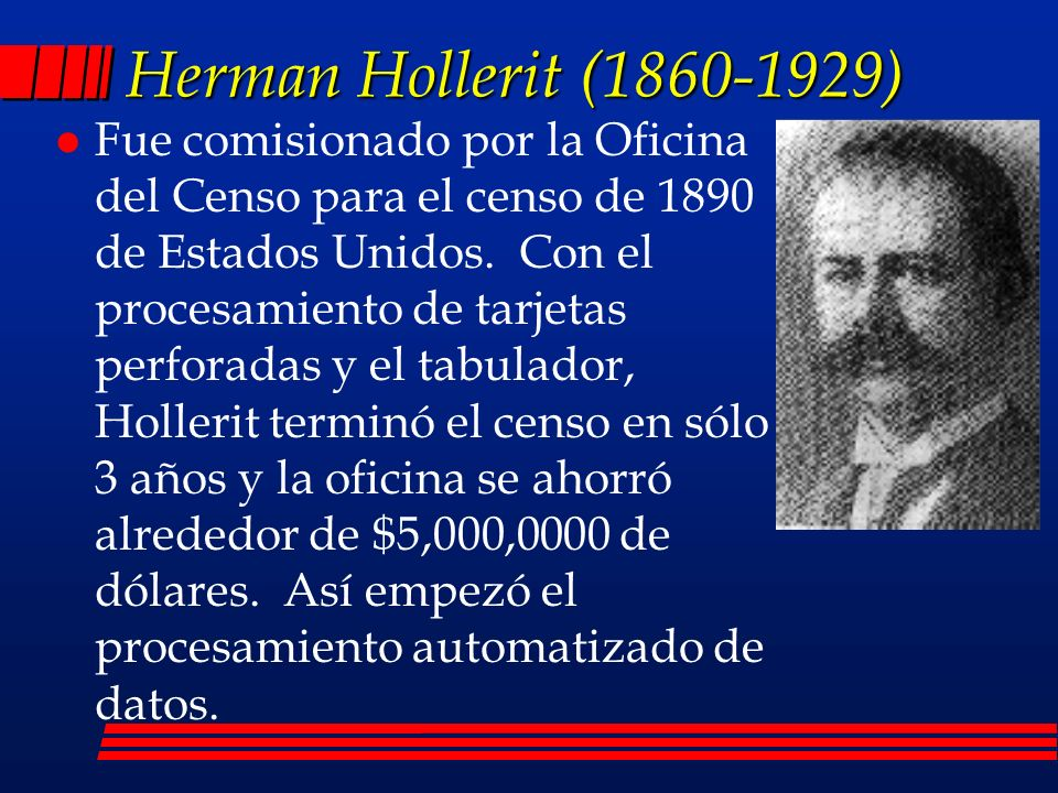 Herman Hollerit (1860-1929)