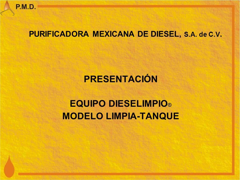 PURIFICADORA MEXICANA DE DIESEL, S.A. de C.V.