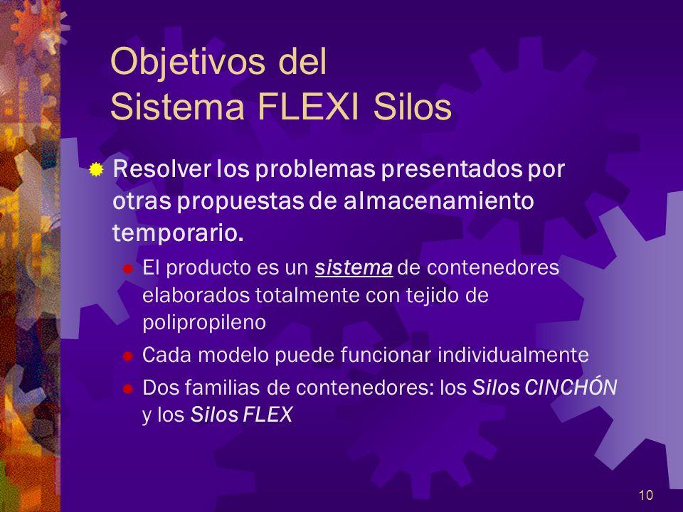 Objetivos del Sistema FLEXI Silos