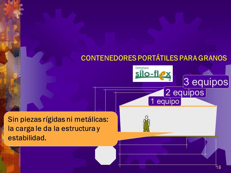 CONTENEDORES PORTÁTILES PARA GRANOS