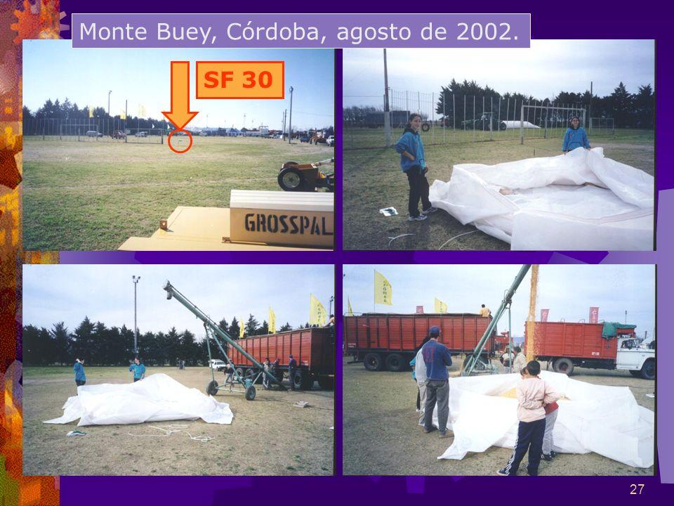 Monte Buey, Córdoba, agosto de 2002.