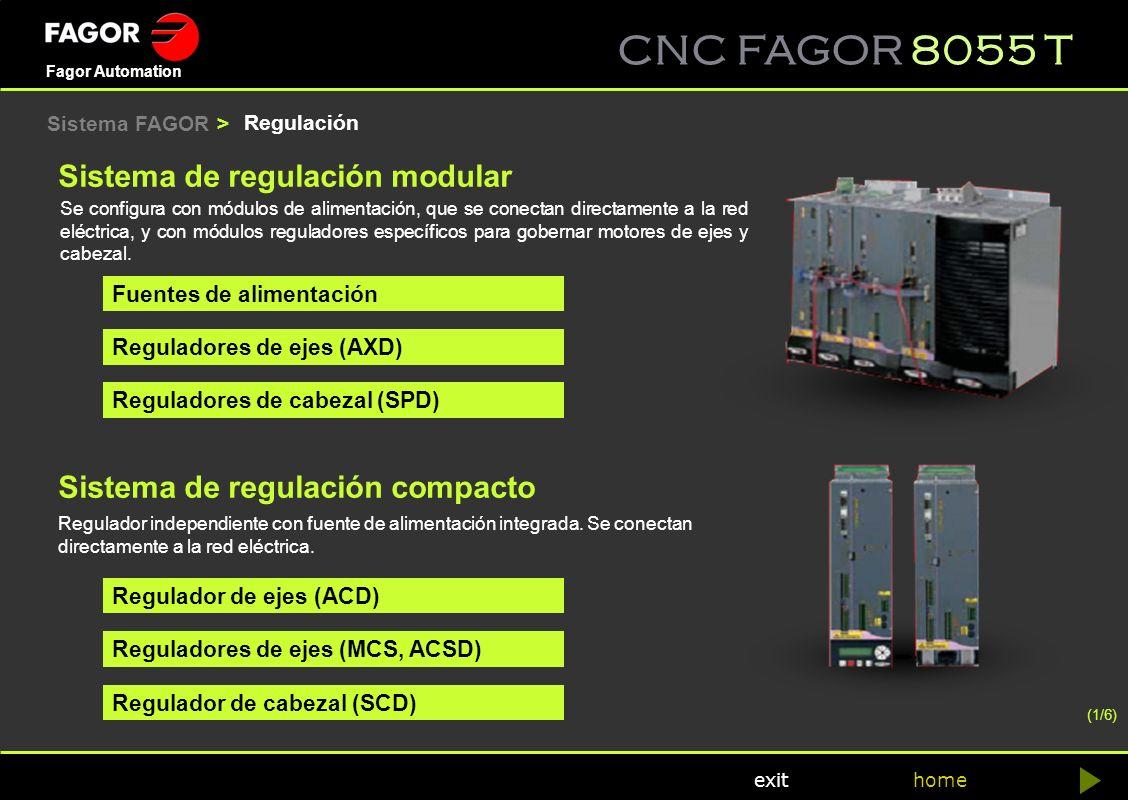 Sistema de regulación modular