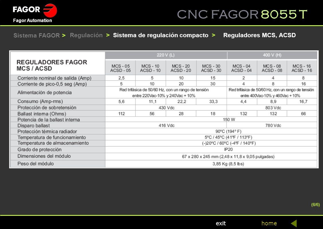Sistema de regulación compacto > Reguladores MCS, ACSD