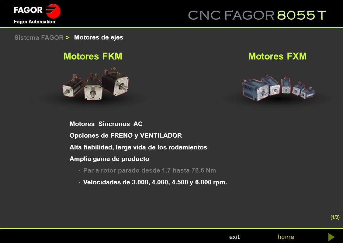 Motores FKM Motores FXM