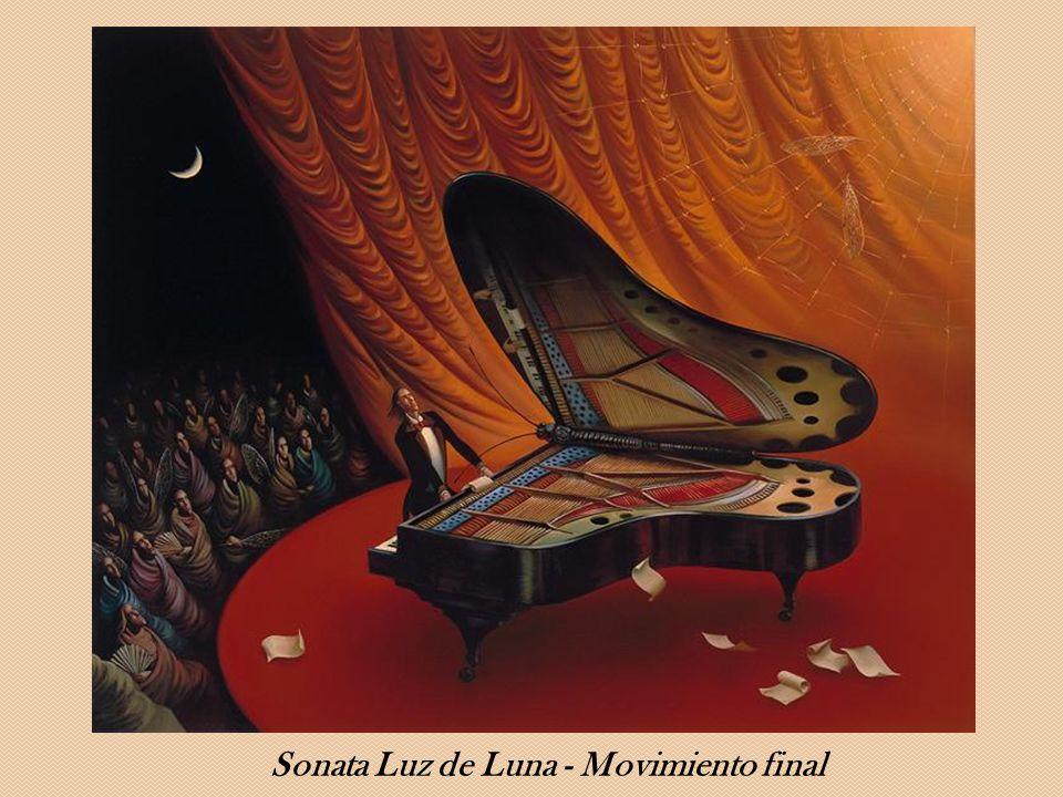 Sonata Luz de Luna - Movimiento final