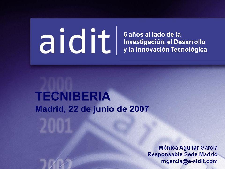 TECNIBERIA Madrid, 22 de junio de 2007 6 años al lado de la
