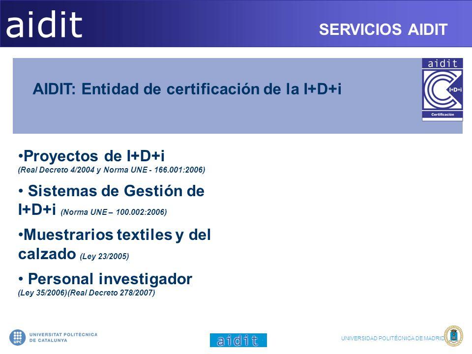 aidit SERVICIOS AIDIT SERVICIOS AIDIT