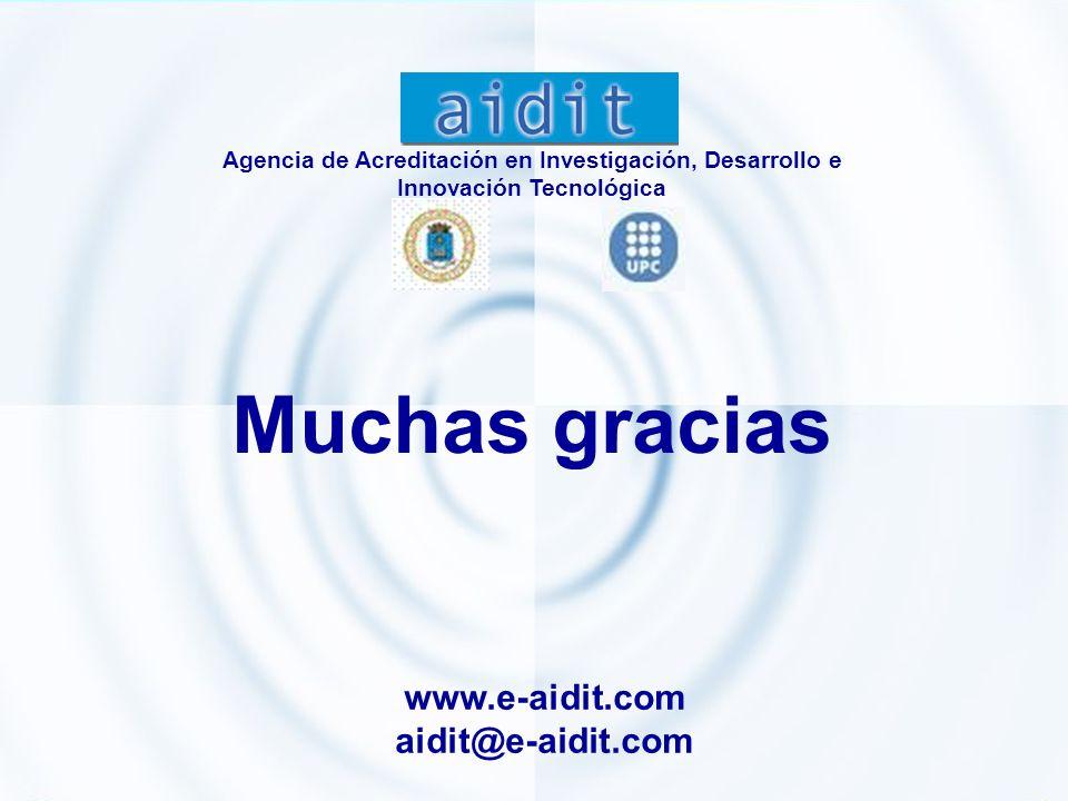 Muchas gracias www.e-aidit.com aidit@e-aidit.com