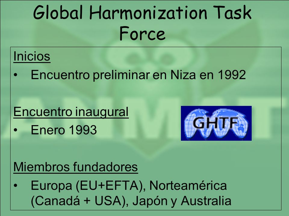 Global Harmonization Task Force