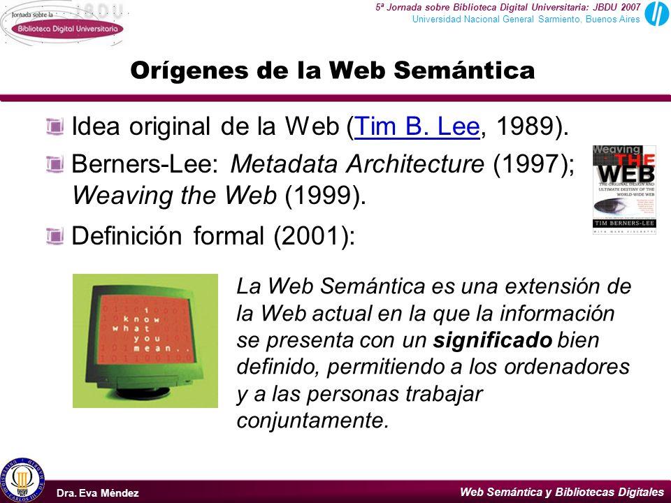 Orígenes de la Web Semántica
