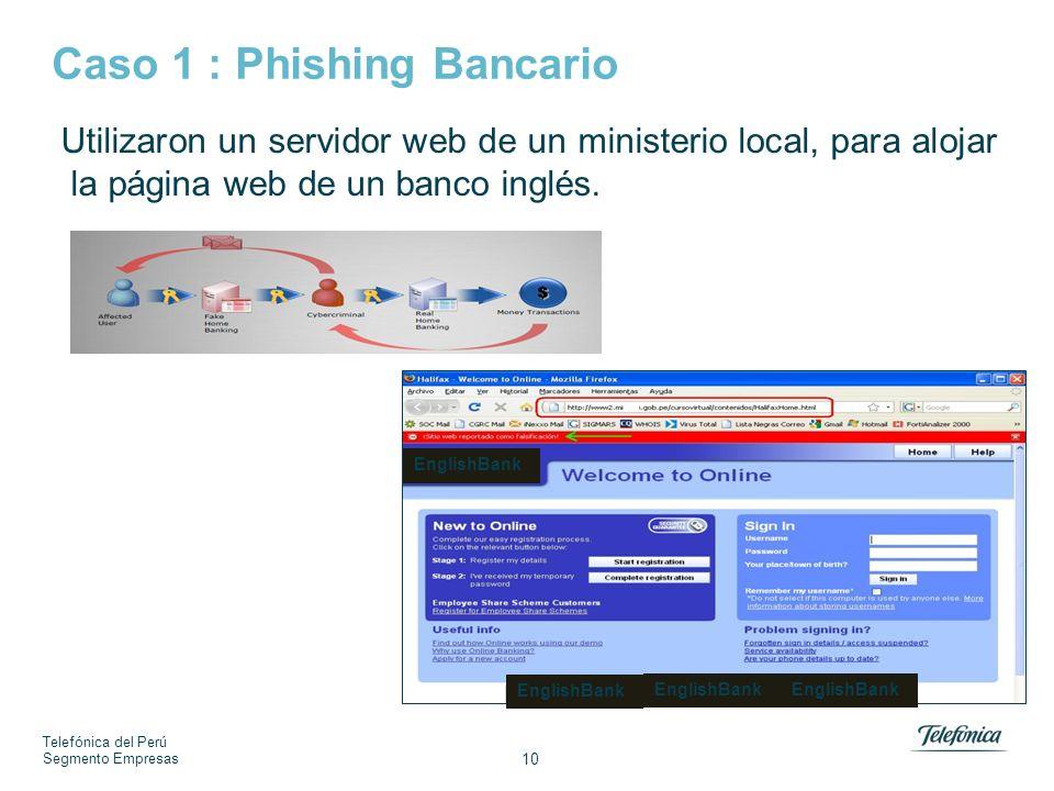 Caso 2 : Actualización de datos en tu Banco