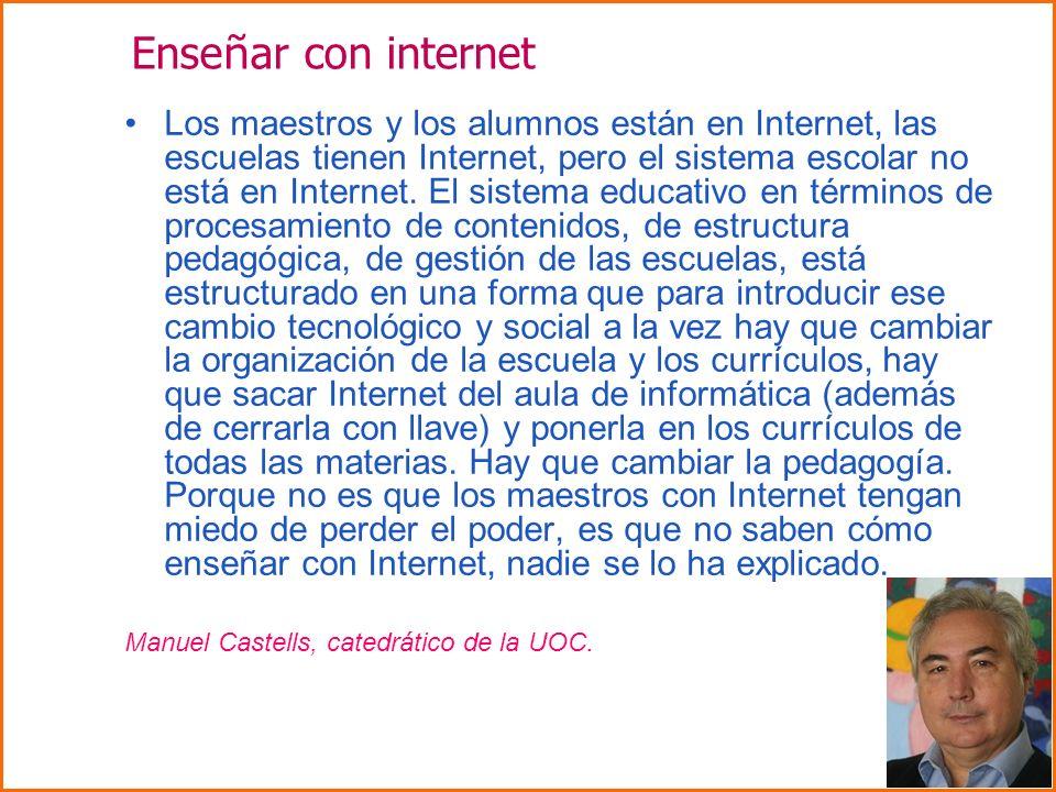 Enseñar con internet