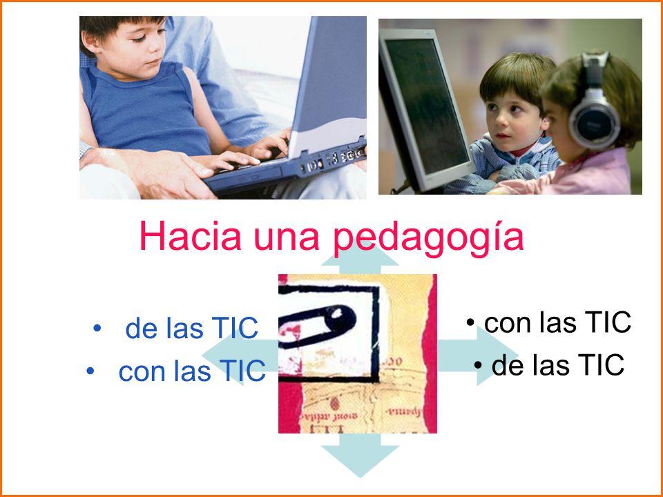 Hacia una pedagogía con las TIC de las TIC de las TIC con las TIC