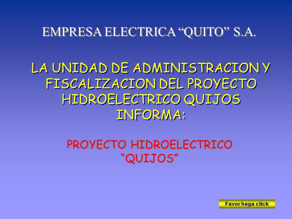 EMPRESA ELECTRICA QUITO S.A.