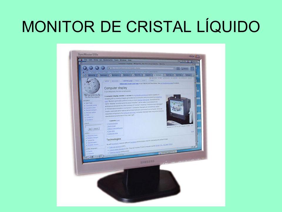 MONITOR DE CRISTAL LÍQUIDO