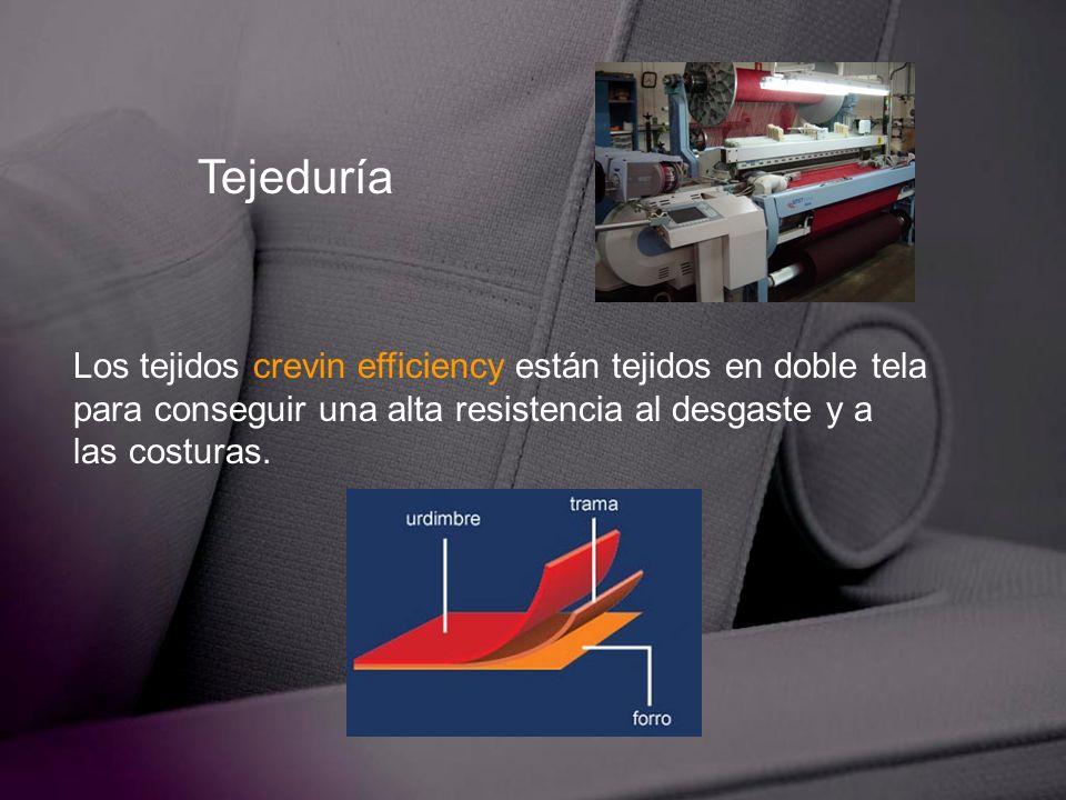 Tejeduría Los tejidos crevin efficiency están tejidos en doble tela
