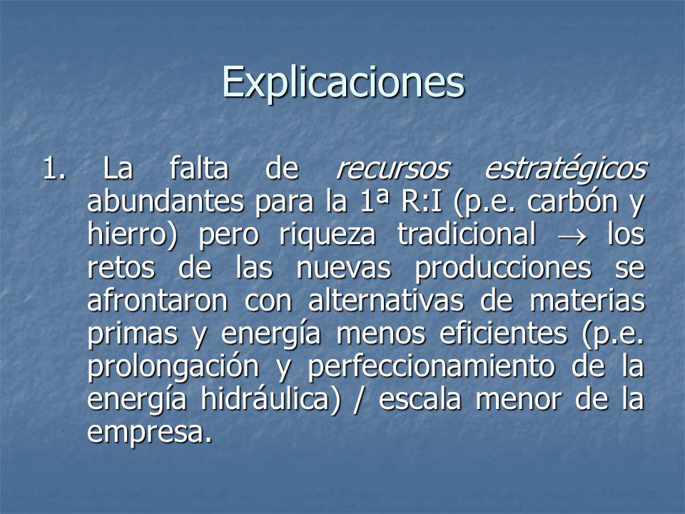 Explicaciones