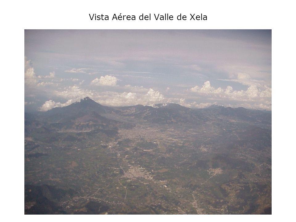 Vista Aérea del Valle de Xela