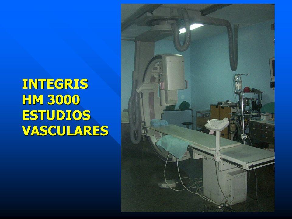 INTEGRIS HM 3000 ESTUDIOS VASCULARES