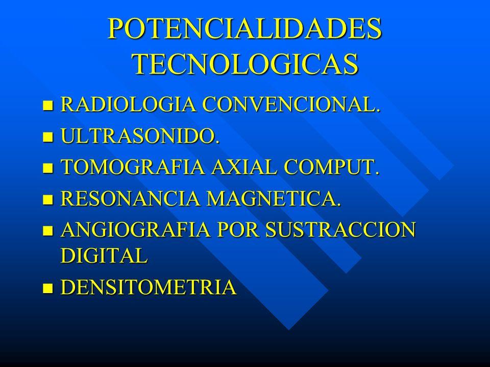 POTENCIALIDADES TECNOLOGICAS