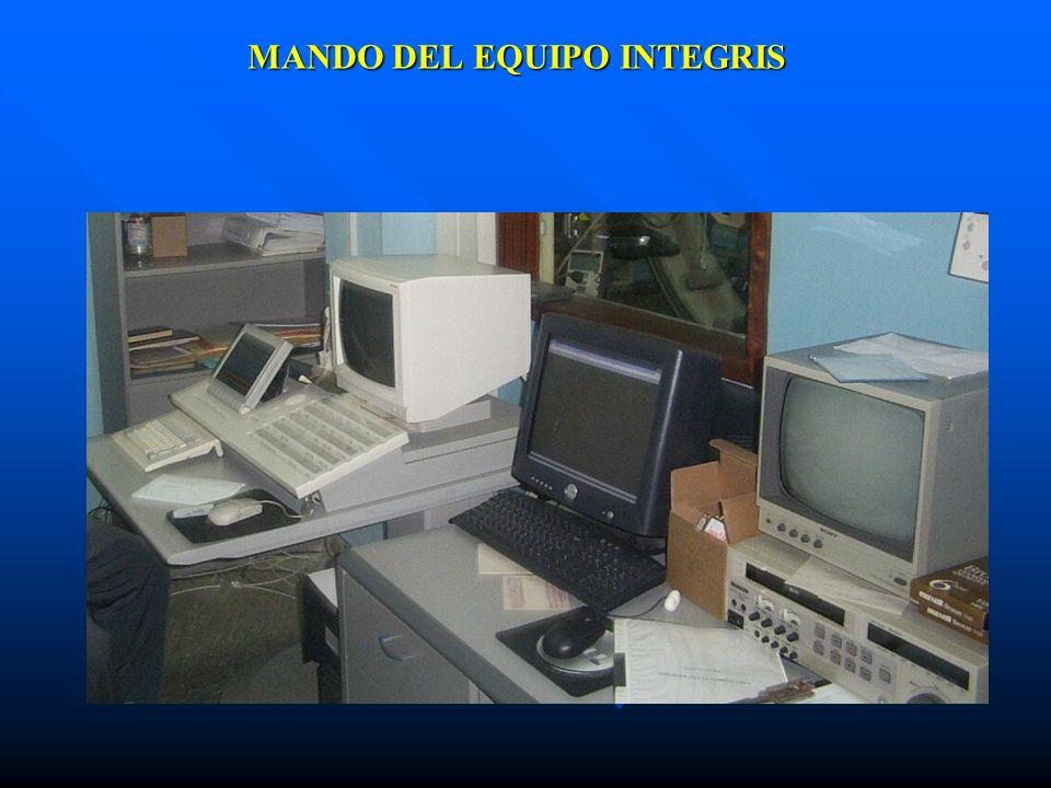MANDO DEL EQUIPO INTEGRIS