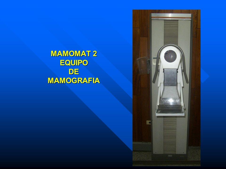 MAMOMAT 2 EQUIPO DE MAMOGRAFIA