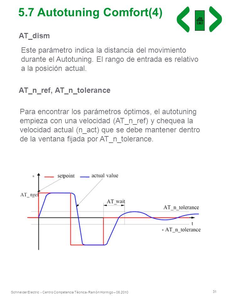5.7 Autotuning Comfort(4) AT_dism
