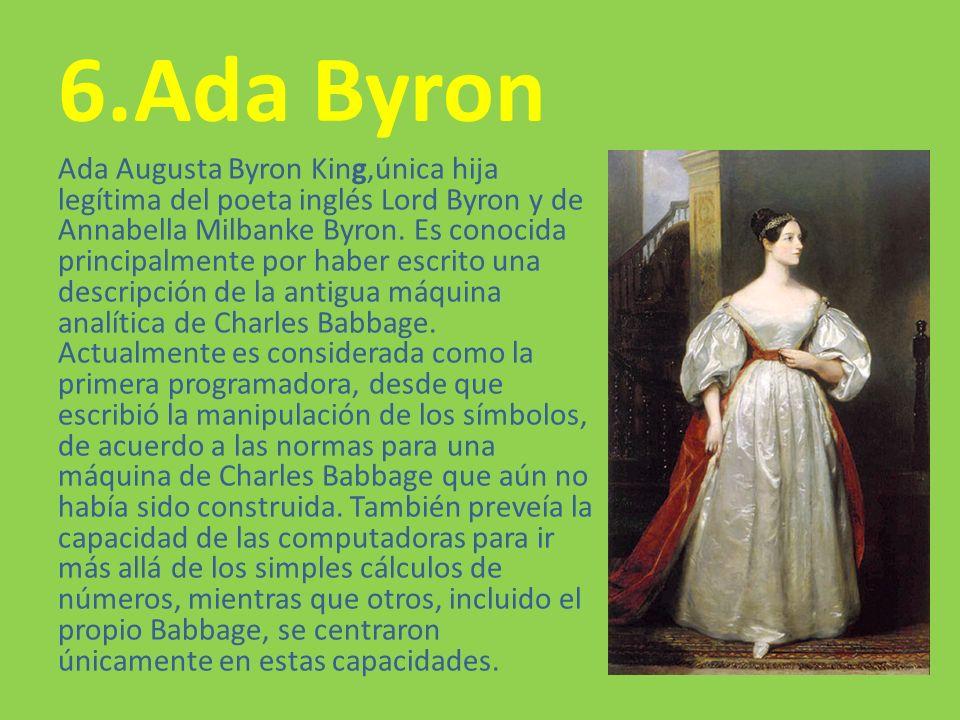 6.Ada Byron