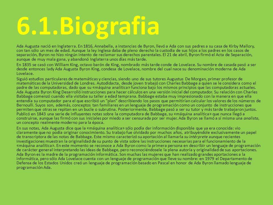6.1.Biografia