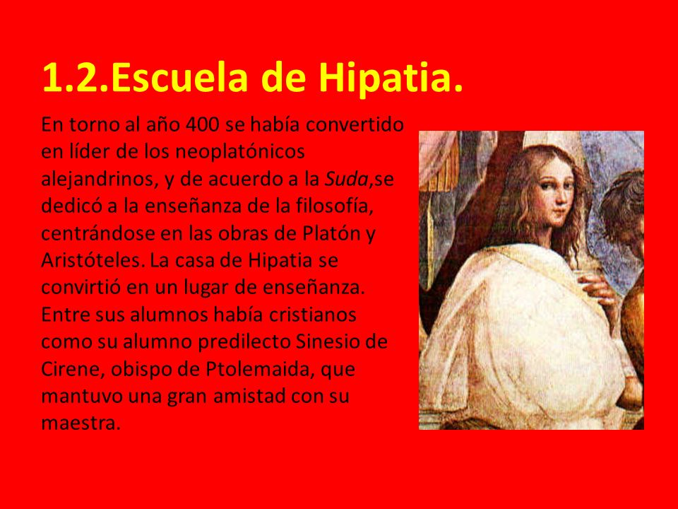 1.2.Escuela de Hipatia.