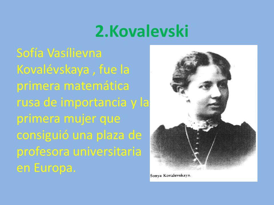 2.Kovalevski
