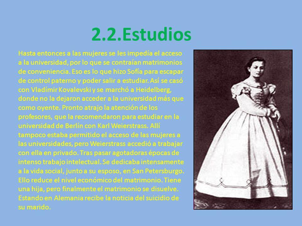 2.2.Estudios