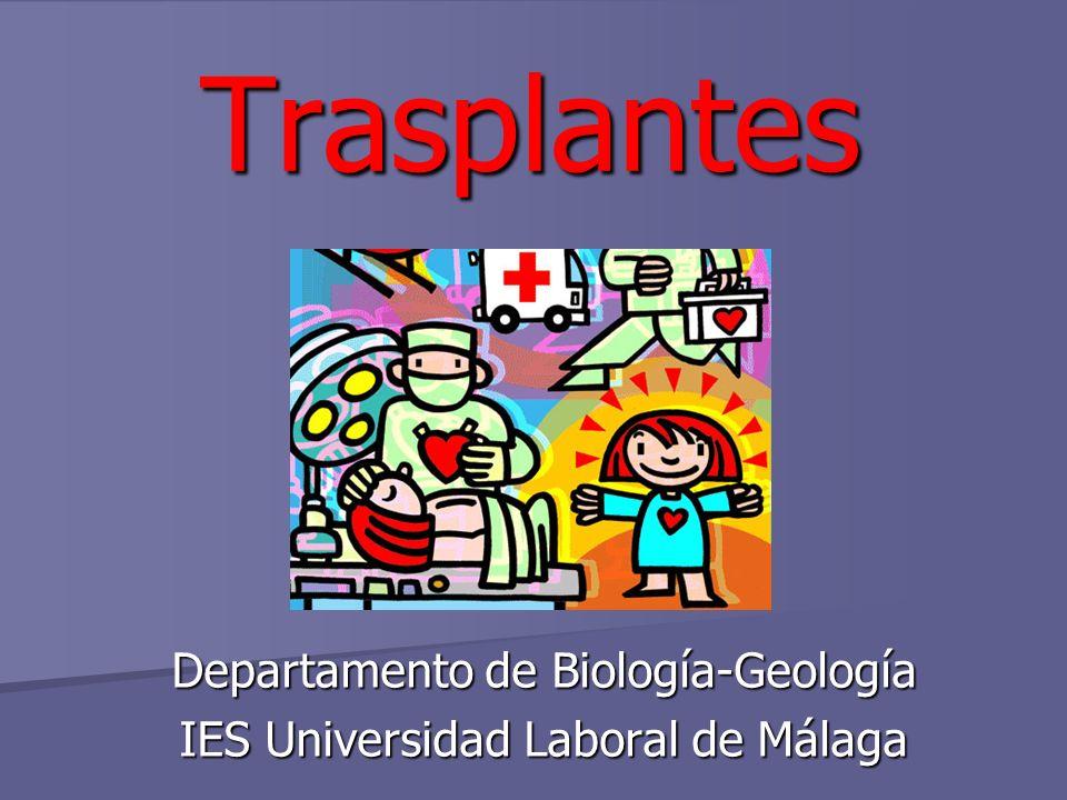 Departamento de Biología-Geología IES Universidad Laboral de Málaga